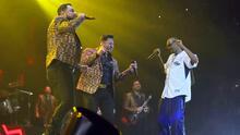 Banda MS sorprendió a sus fans de California al presentarse junto al rapero Snoop Dogg