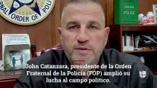 Presidente de la FOP amplía su desafío: John Catanzara anuncia que buscará la alcaldía de Chicago