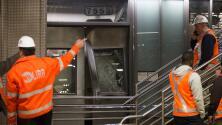 """Testigos del descarrilamiento de tren en Nueva York: """"creíamos que era una bomba"""""""