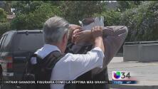 Así entrena LAPD para situaciones de tensión con enfermos metales