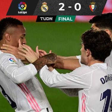 ¡Oxígeno! Real Madrid venció a Osasuna y sigue vivo por LaLiga