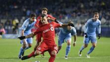 Un magistral Sebastián Giovinco lideró la escandolosa goleada 5-0 de Toronto FC ante New York City FC