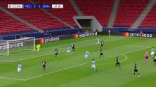 ¡GOL!  anota para Manchester City. Kevin De Bruyne