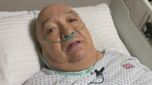 El susto más grande de su vida: el comediante Luis de Alba fue operado de emergencia tras una aparatosa caída
