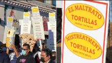 En imágenes: La marcha histórica de los trabajadores de tortillerías 'El Milagro'