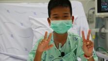 Estos son los primeros mensajes de los niños rescatados de la cueva en Tailandia