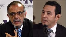 Polémica en Guatemala por choque del presidente con el jefe de la comisión contra la impunidad