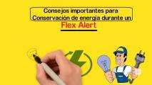 Consejos importante para conservar energía en medio de la Alerta Flex en vigor