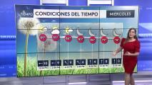 Tiempo en Puerto Rico: mitad de semana caluroso con altos niveles de humedad