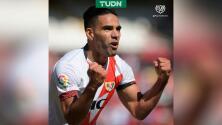 Falcao: Soñaba con marcar en mi debut con el Rayo Vallecano