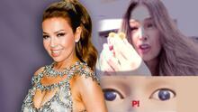 Thalía quedaría eliminada en 'El juego del calamar' con el reto de la galleta (aunque diga lo contrario)