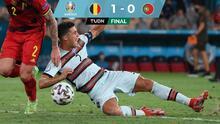 ¡Se va el campeón! Bélgica elimina a Portugal y Cristiano Ronaldo