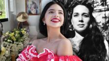 """""""Guíame desde arriba"""": Ángela Aguilar dedica emotivo mensaje a su abuela Flor Silvestre el día de su cumpleaños"""