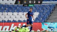 Atlético de Madrid, más líder que nunca, tras vencer a la Real Sociedad