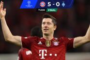 Resumen   ¡Vaya goleada! Bayern Munich destrozó al Dynamo Kiev