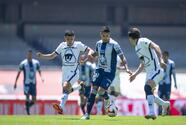 Pumas hace un par de sorpresivos goles sobre el tiempo e Iguala con Tuzos