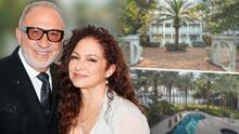 En fotos: Gloria y Emilio Estefan venden la mansión que tenían en una isla de Miami (y sacan millonaria ganancia)