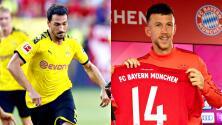 Los flamantes refuerzos del Bayern de Múnich y Borussia Dortmund