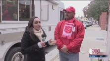 Salvation Army ofrece ayuda para desamparados ante las bajas temperaturas