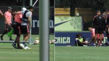 Lainez y Sánchez estarían disponibles para enfrentar al Puebla este viernes