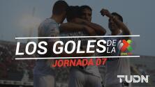 Revive los goles de la Jornada 7 del Apertura 2019