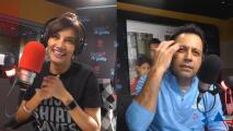 Una radioescucha retó a Omar a maquillar a Argelia