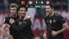 Bayern vence al Leipzig y le mete presión al Wolfsburgo