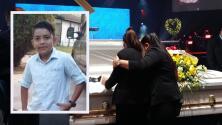"""""""Estamos todos destrozados"""": Familia de Cristian Pavón durante sus servicios fúnebres"""