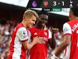Arsenal brinda uno de sus mejores partidos y vence al Tottenham