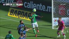 Madruguete de Pedro Aquino del León para el 1-0 contra Querétaro