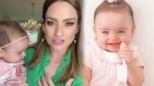 """Michelle Galván responde a los que dicen que está """"obsesionada"""" con baby Megan"""