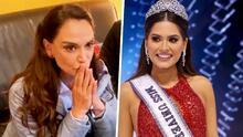 """Por hacer """"copia y pega"""", Lupita Jones comete error al felicitar a Andrea Meza como Miss Universo"""