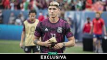 """Alan Pulido: """"Es complicado ser el 9 de la selección mexicana"""""""