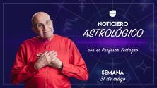 Noticiero astrológico: semana del 31 de mayo al 6 de junio