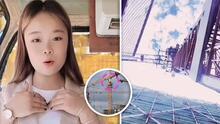 Graba su muerte: Influencer china pierde la vida al caer desde 48 metros de alto mientras hacia un video