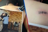 """""""Cuidado con una mujer enojada"""": Toma venganza y engaña a su novio para tatuarle la palabra 'infiel' al enterarse que le puso 'el cuerno'"""