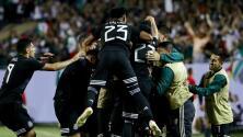 Siete jugadores del Tri aparecen en el once ideal de la Copa Oro