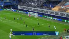 Resumen del partido Zenit St Petersburg vs Malmö FF