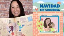 'Navidad sin chimenea': un libro para niños que desafía los estereotipos de los libros tradicionales sobre esta época