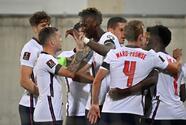 """Inglaterra golea a Andorra jugando a """"medio gas"""""""