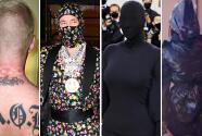 J Balvin terminó lastimado y Kim Kardashian en divertidos memes por su moda extravagante para la Met Gala
