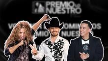 Las votaciones de Premio Lo Nuestro están 'on fire': fans de Shakira, Daddy Yankee, Joss Favela y más se movilizan