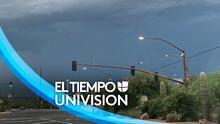 Lluvias y temperaturas en los 70°F en el centro y sur de Arizona, vientos y nubosidad al norte