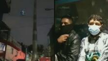 Los momentos de pánico que vivieron varias personas atrapadas en un teleférico durante el terremoto en México