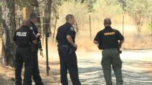 Dos policías heridos y un sospechoso muerto en tiroteo en campo de marihuana de California