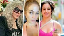 Verónica Castro, JLo y Camila Cabello entre las famosas que buscan lucir al natural
