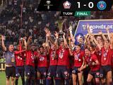 Lille le da otro revés al PSG, ahora lo vence por el Trofeo de los Campeones