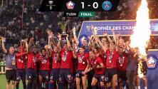 ¿Y las estrellas? PSG pierde Supercopa de Francia ante el Lille