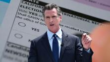 En dos semanas se decidirá si Gavin Newsom permanece en el cargo