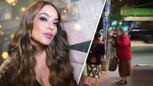 """Mayeli Alonso sorprende a dos señoras en la calle y les regala dinero para que compren """"lo que quieran"""""""